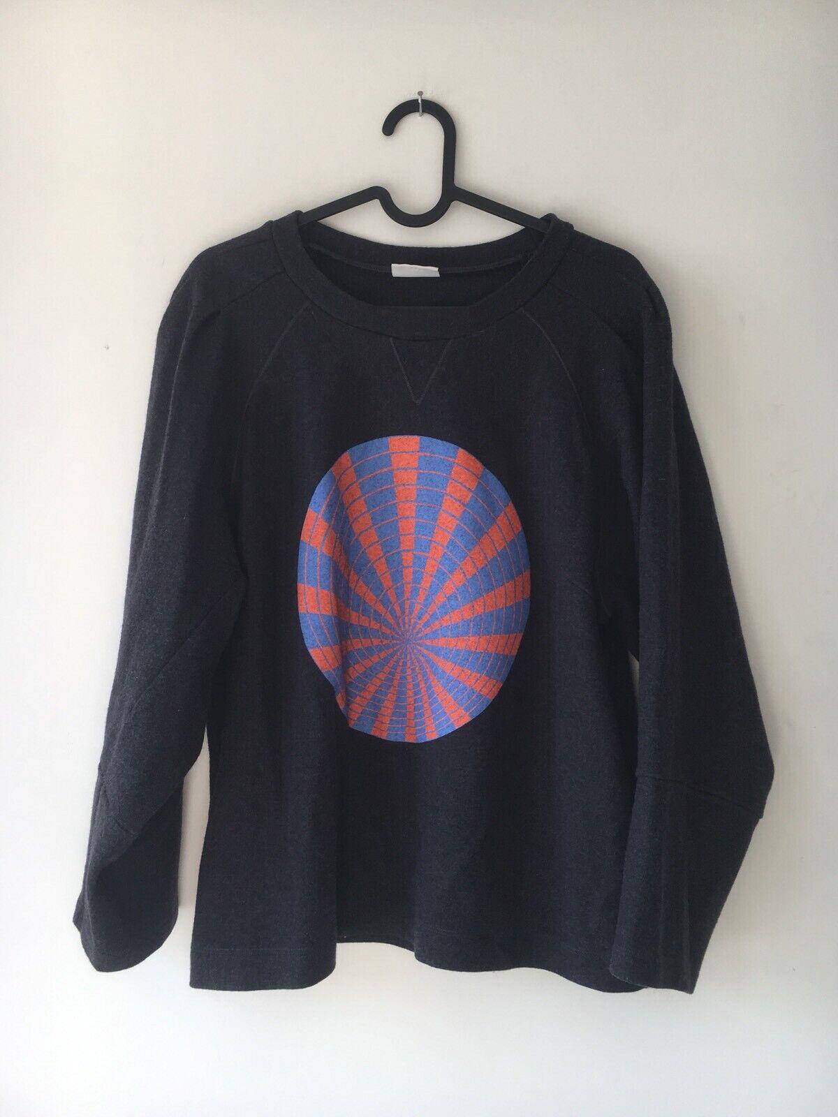 Dries Van Noten Wool Sweater Top Größe Large