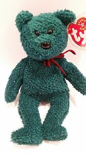 ac1b35f18a8 RARE!!! TY Beanie Babies 2001 Holiday Teddy Bear with errors or ...