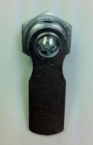 Lot of 10 Cam Locks KEYED ALIKE 20 mm shaft.