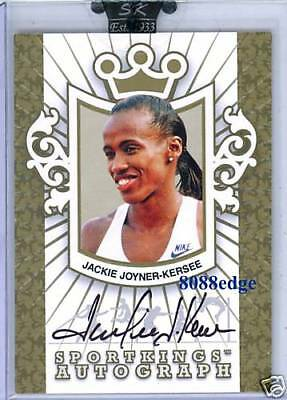 2009 Sportkings Auto Gold Olympics Jackie Joyner-kersee/10 Autograph Olympic Champion Sophisticated Technologies