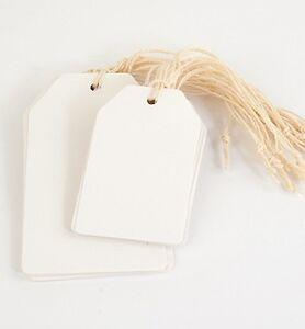 Papieranhaenger-Tags-Labels-zum-Selbstgestalten-20-Stueck-weiss-Scrapbooking