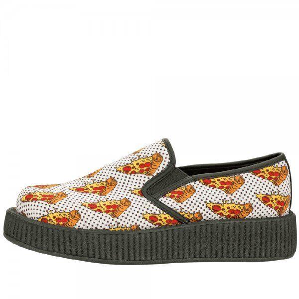T.U.K. Av8892 Tuk Unisex Vegan Schuhes Pizza Slip On On Slip Creepers s Rare A V 8892 cbc70c