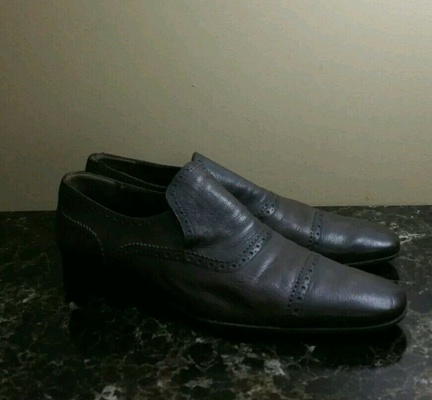 750  Bally Brown Leather Made Shoes Size US 11.5 Made Leather in Switzerland 8c58b6