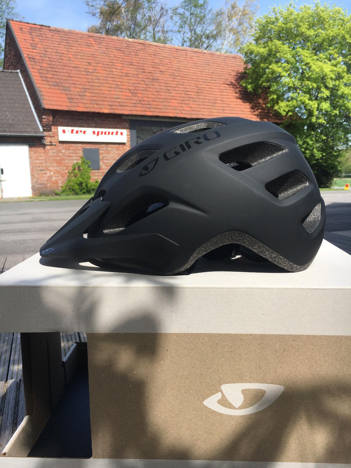 GIRO COMPOUND XL MTB Helm großer Kopfumfang 58-65cm gute Belüftung black matt