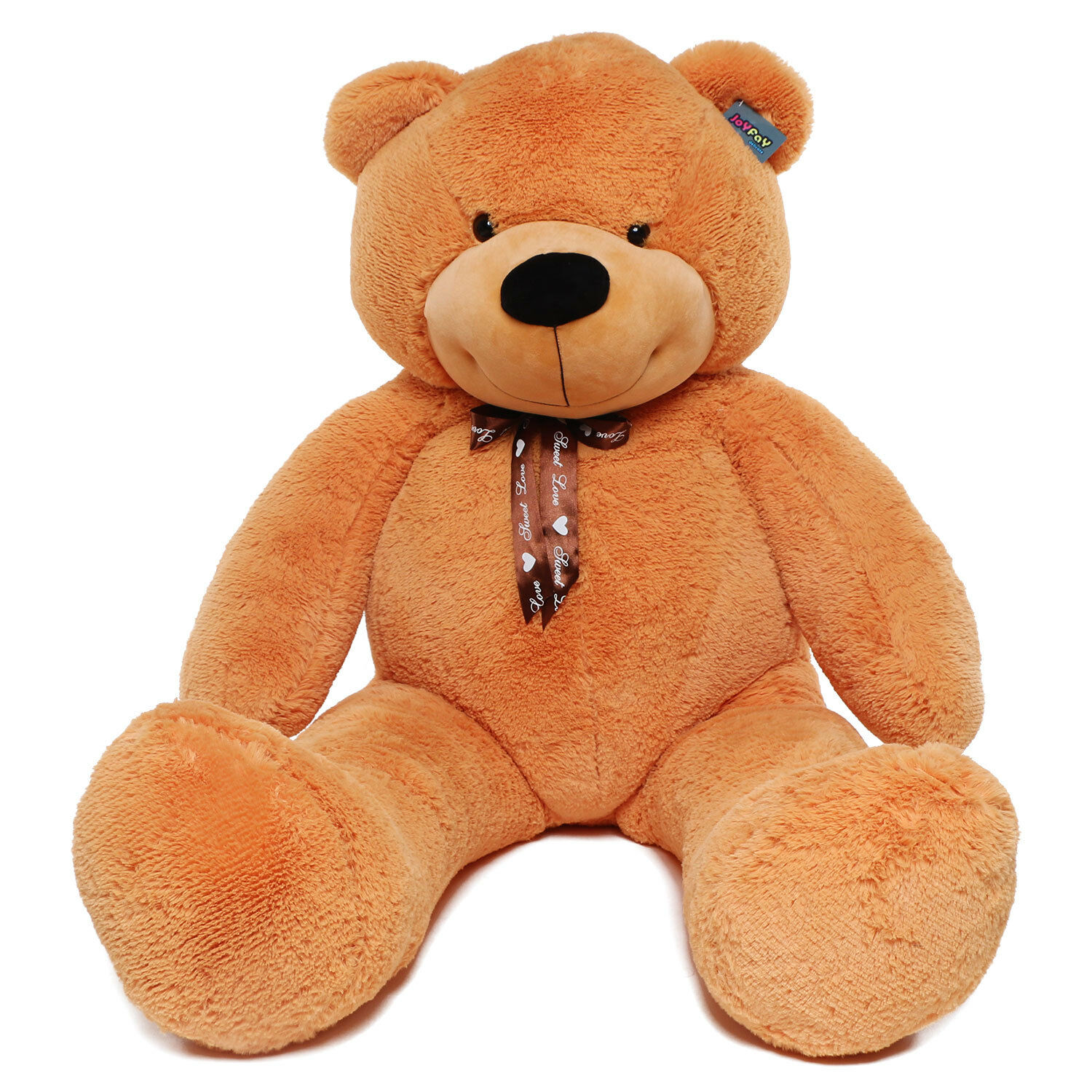 Joyfay 63  160cm 160cm 160cm 5 ft Giant Teddy Bear orange Brown Stuffed Toy Valentine Gift 3a9dc3