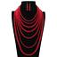 Charm-Fashion-Women-Jewelry-Pendant-Choker-Chunky-Statement-Chain-Bib-Necklace thumbnail 141