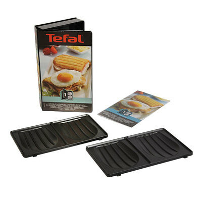 Tefal Snack Collection Platten-Sets XA80 Antihaftbeschichtet Spülmaschinenefest