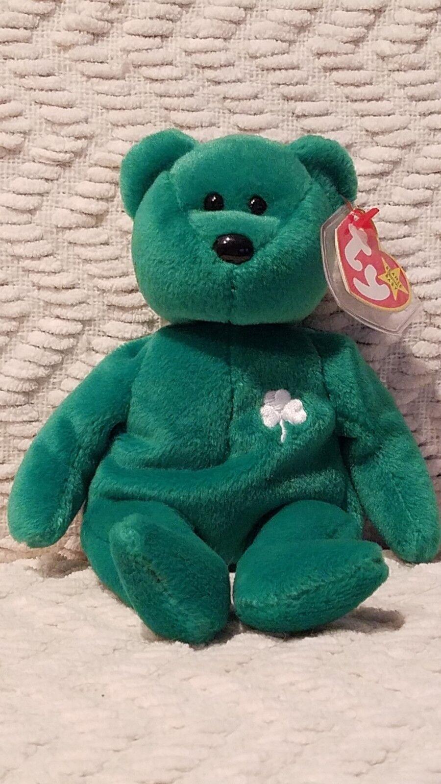 Ty Beanie Baby  Erin  MWMT
