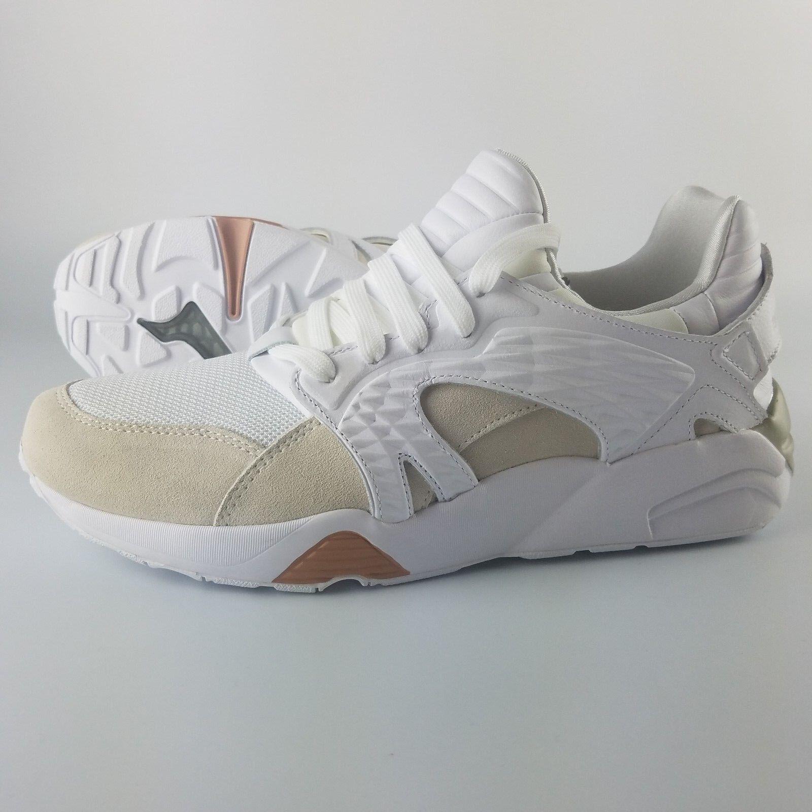 Puma Han Kjobenhavn Blaze Cage Cage Cage X Uomo Dimensione 10 US Athletic scarpe bianca Tan 93270d
