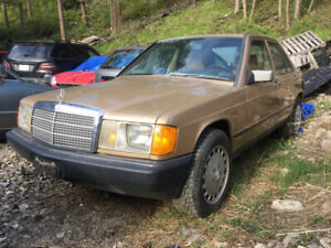 1986 Mercedes-Benz 190