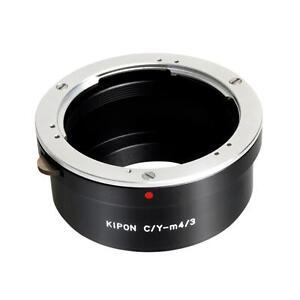 Adaptateur-Kipon-pour-objectif-Yashica-Contax-sur-boitier-Micro-Four-Thirds