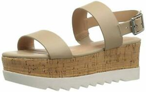 db7676c355e Madden Girl Sugar Flatform Sandals Nude Paris 9.5 M NIB 882946179312 ...