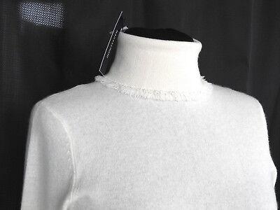 Medium $348 Magaschoni Cashmere Funnel Neck Sweater NWT