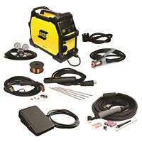 Esab Rebel Emp 215ic Mig/stick/tig Welder With Foot Control (0558102240) on sale