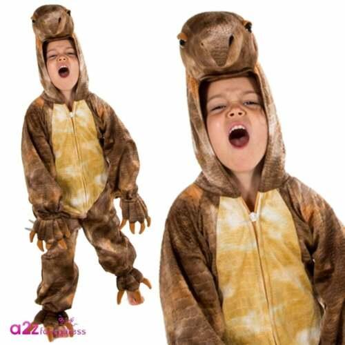 Delux Dinosaurier Kostüme Kind Baby T-Rex Jungen Mädchen Karneval Kostüm Outfit