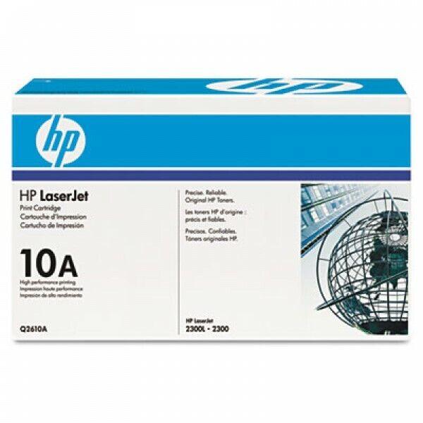 New Genuine Sealed HP LaserJet Print Cartridge 10A Q2610A 2300 2300L Black