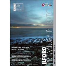 Luster Photo Paper Ilford 4x6x50 Sheets 10x15cm for Epson Canon and HP