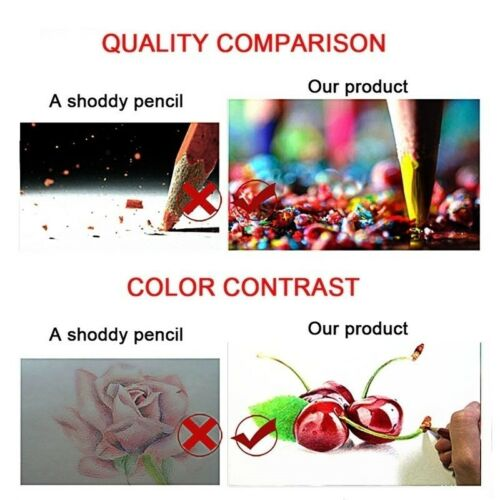 160 Colors Drawing Pencil Safe Non-toxic Oil Colored Pencil  Pro Artist Pencils