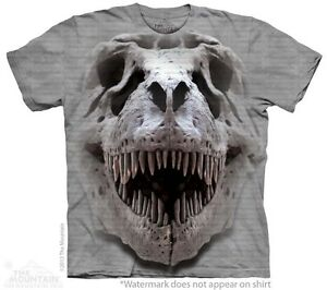 T-Rex-Big-Skull-Kids-T-Shirt-from-The-Mountain-Dinosaurs-Youth-Child-Sizes-NEW