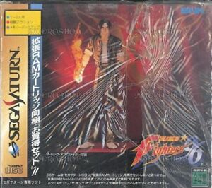 UsedGame-Sega-Saturn-The-King-of-Fighters-96-with-extended-RAM-Japan