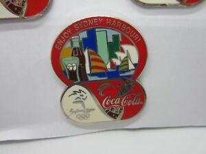 Coca-Cola-Coke-Australia-039-s-Sydney-2000-Olympic-Games-Enjoy-Sydney-Harbour-NewPin