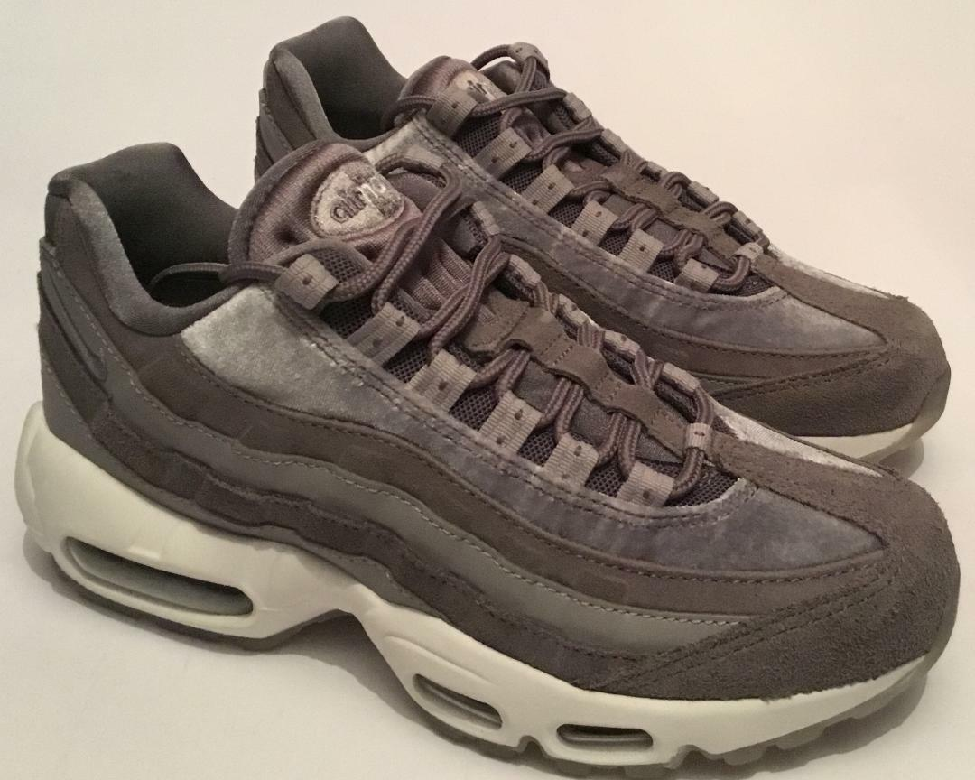Nike Women's Air Max 95 LX Grey Trainers - Brand New - Sizes From UK 4 - SALE