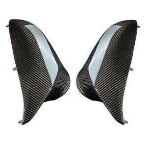 Replacement carbon fiber mirror cover caps for BMW M3 M4 F80 F82 F83
