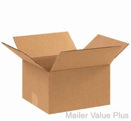 25-10 x 9 x 6 Shipping Boxes Packing Moving Cartons Cardboard Mailing Box