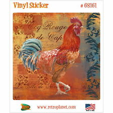 Chicken Rooster Hen Silhouettes Vinyl Decal Free Ship #13 4 To Choose From