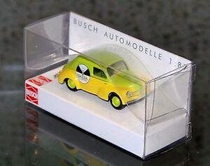 Busch-46512-h0-1-87-renault-4cv-Mazda-verde-amarillo-productos-nuevos