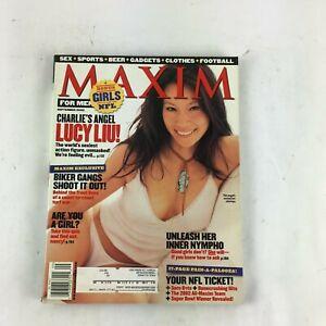 September-2002-Maxim-Magazine-Charlie-039-s-Angel-Lucy-Liu-Biker-Gangs-Shoot-It-Out