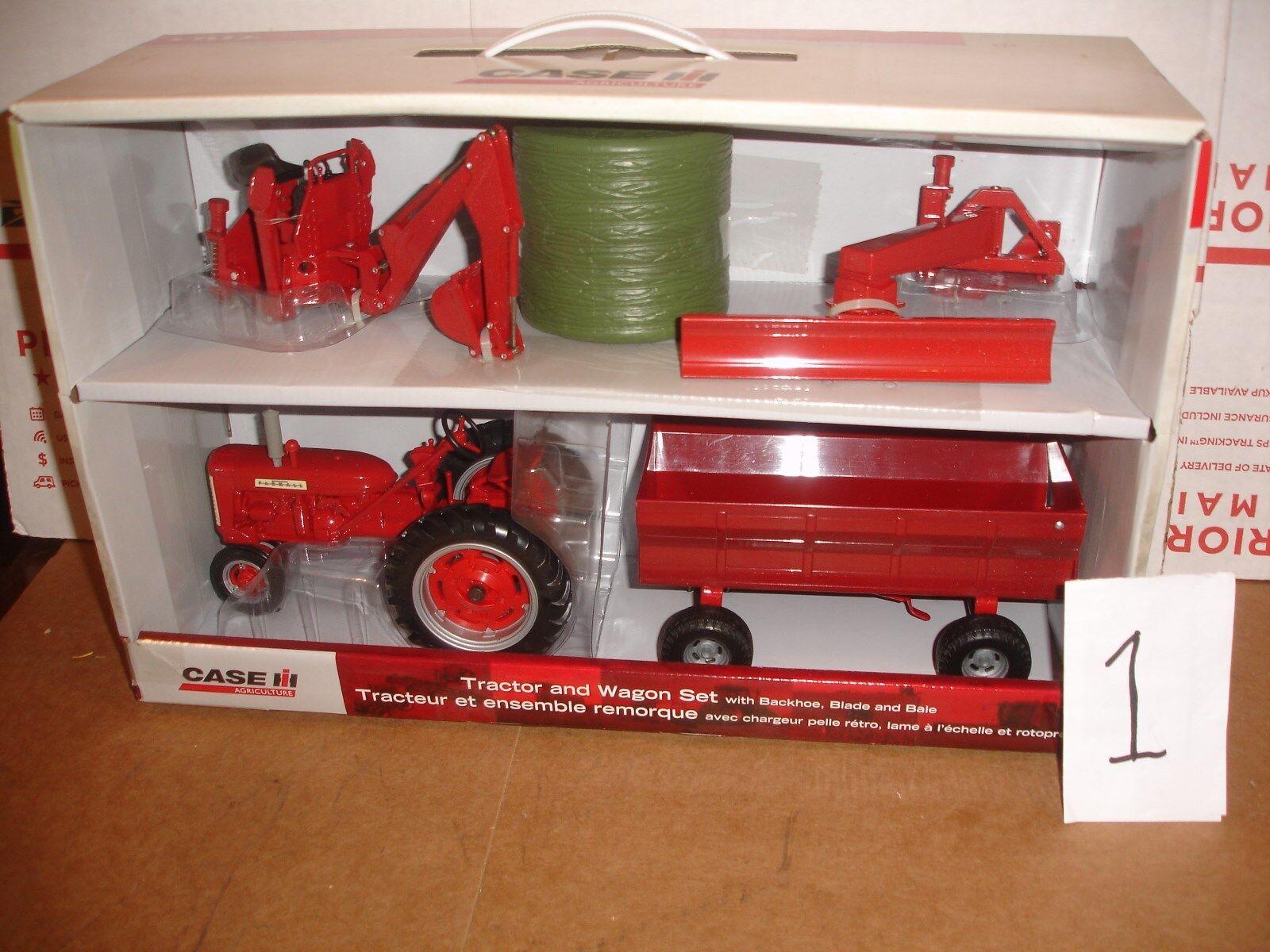 1 16 CASE IH jouet tracteur 4 P Set