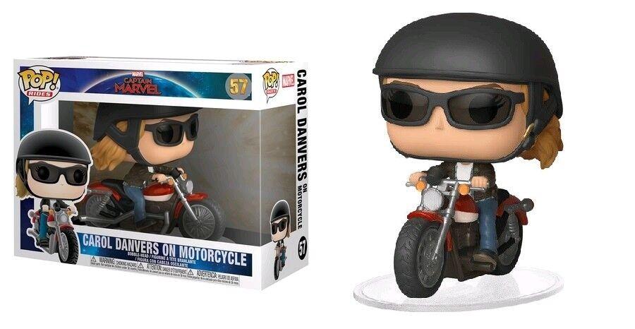 Captain marvel - carol danvers für motorrad funko pop - new in box