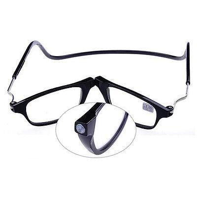 Gafas de Lectura con Imán Plegables Gafas de Leer Magnéticas con Cordón Cuello