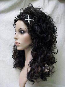 Grecian Goddess Wig Braided Headband Medieval Renaissance Athenian Greek Roman