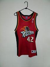 RARE Vintage Jerry Stackhouse NBA Detroit Pistons Alternate Jersey (Size 44)