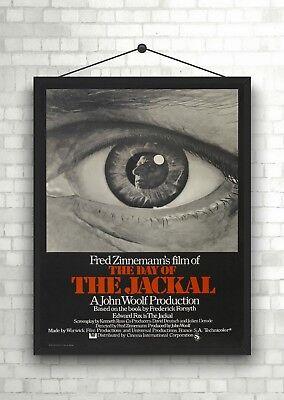The Jackal Classic Large Movie Poster Art Print Maxi A1 A2 A3 A4