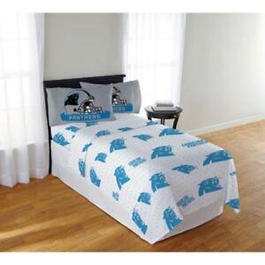 041dcbdec91 Carolina Panthers Sheet Set NFL Full Bed Fitted Flat Sheets Boys ...
