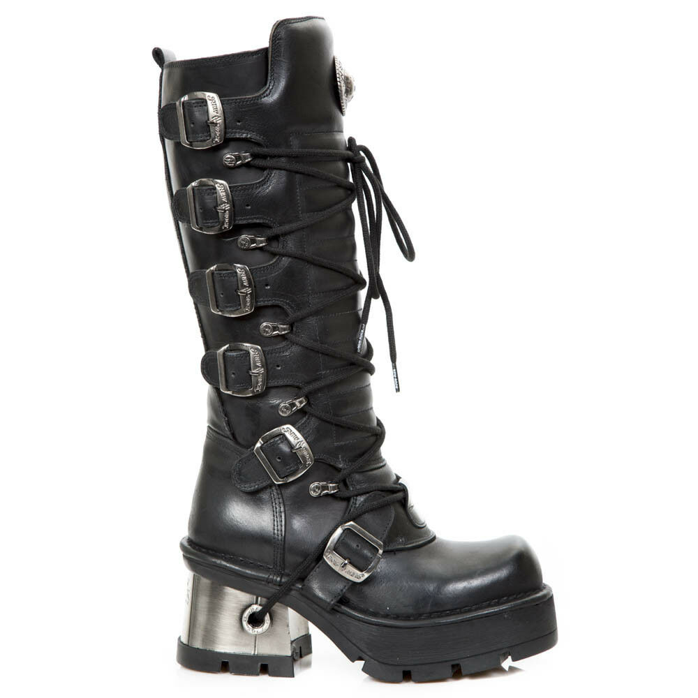 New Rock NR M.716 S1 Black - Boots, Newmili, Women