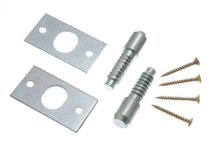10x Sicherheits Gelenkbolzen Bzp Stahl mit Befestigungsschrauben 13G5