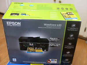 Details about NEW Epson WorkForce 630 Wireless All-In-One Inkjet Printer
