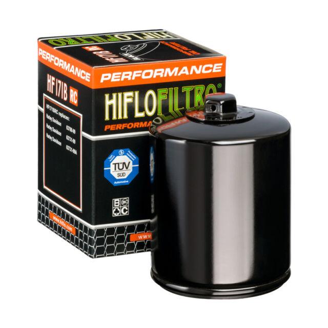 Filtre a huile hiflofiltro HF171 B RC BLACK HARLEY DAVIDSON