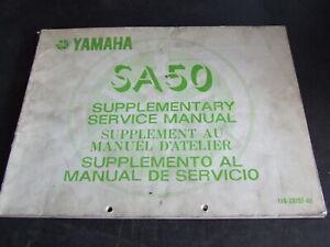 Yamaha-SA50-SA-50-1982-1983-Workshop-Service-Manual-Supplement