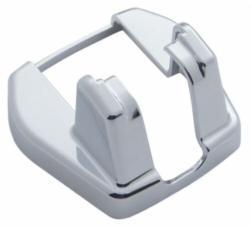 International Chrome Plastic Cab Latch Cover Pair