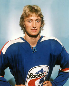 new arrival 5fb6e 75048 Details about 1978 Indianapolis Racers WAYNE GRETZKY Glossy 8x10 Photo WHA  Hockey League Print