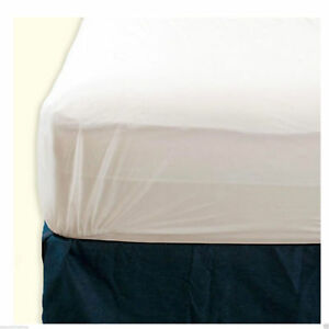 NEW-SINGLE-DOUBLE-KING-FITTED-VINYL-MATRESS-WATERPROOF-MATTRESS-PROTECTOR-COVER