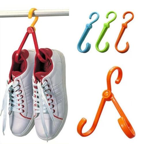 SP Crochet Collapsible Multi Usage Chaussures Outil Maison Vetement Aléatoire