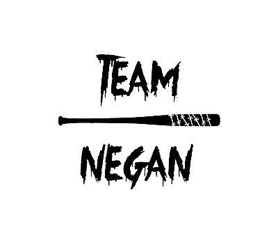 I will Shut That Negan Zombie Walking Dead Vinyl Decal Sticker Laptop Car Window