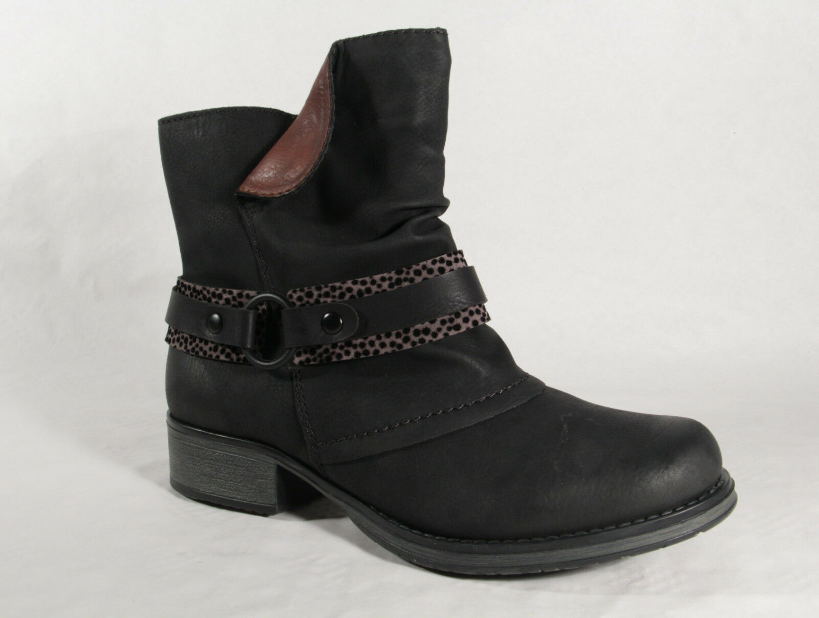 Rieker Stiefel Y9792 Stiefelette Stiefel, Winterstiefel schwarz schwarz schwarz  NEU  | Attraktiv Und Langlebig  55e814