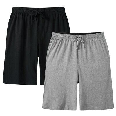 3 Pack JINSHI Men/'s Casual Soft Cotton Plaid Lounge Pajama Sleepwear Shorts